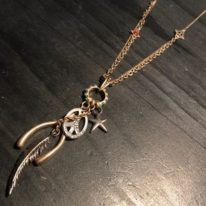 Lucky Bramd bronzetone awesome necklace!